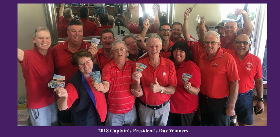 2018 captains presidents day winners